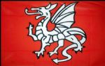 ENGLISH PENDRAGON - 5 X 3 FLAG